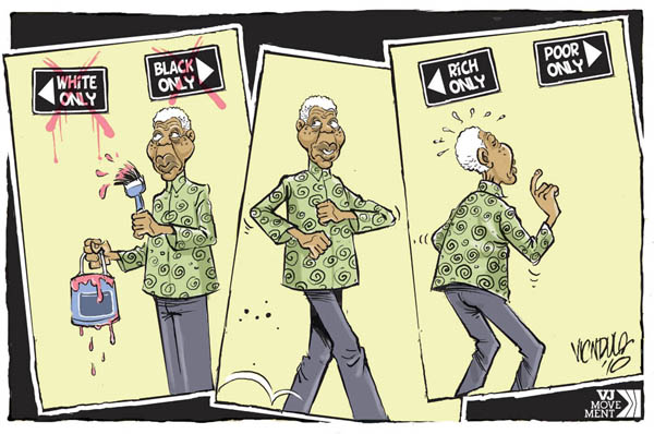 Cartoonist known for his cartoons of african politics do you
